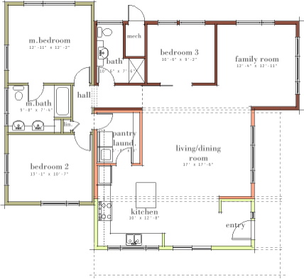 5 compelling benefits of an open house floor plan sotech for Most popular house plans 2015