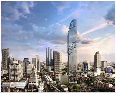 Thailand 5 tallest buildings in thailand steemit for Asia famous buildings