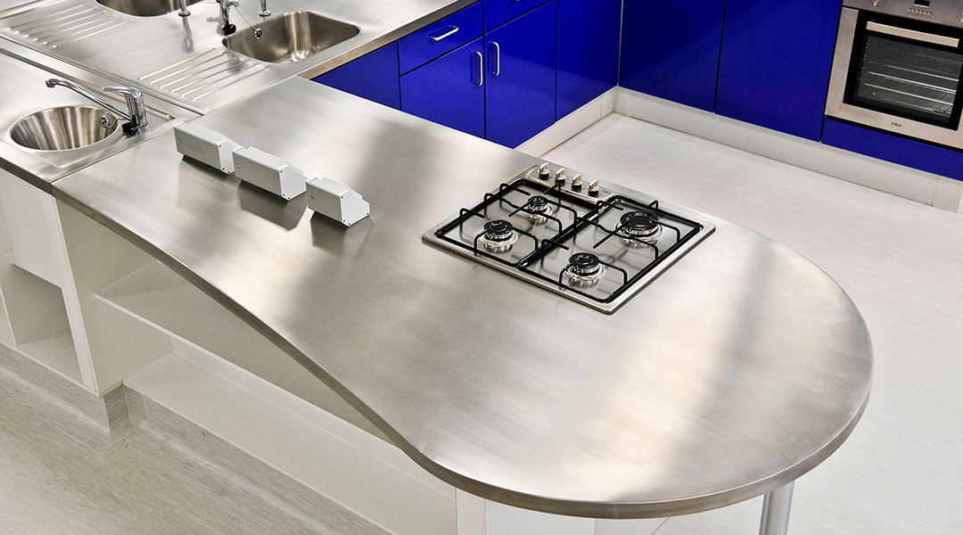 Kitchen Stainless Steel Worktop